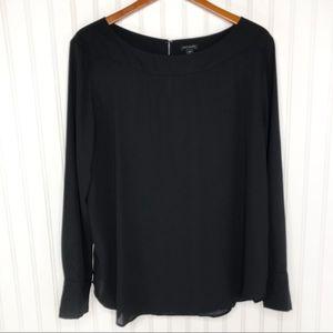Ann Taylor Lightweight Long Sleeve Blouse XL